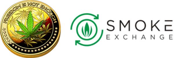 Dopecoin & Smoke Exchange Logo